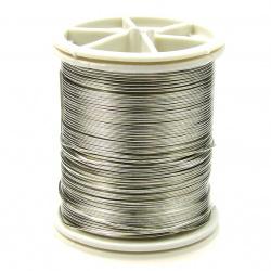 Silver Jewellery copper wire  0.6 mm