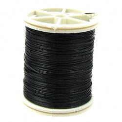 Sârmă de cupru 0,6 mm negru ~ 12 metri