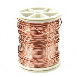 Jewellery copper wire  0.8 mm