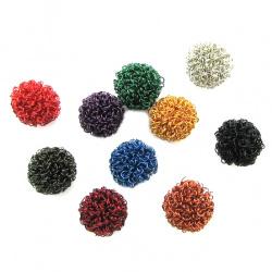 Minge de sârmă de cupru colorată de 25 mm