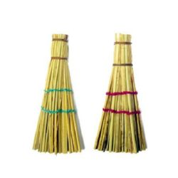 Broom for decoration 8 cm