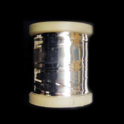 Bandă metalică 1 mm argintie