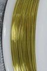 Медна тел 0.3 мм злато ~12 метра