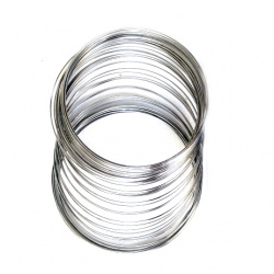 Jewellery Memory Wire for bracelets 55 x 0.5 mm