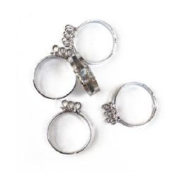 Metal ring base 18 mm