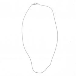 Chain color white LUXURY 22-24 cm