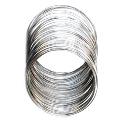 Jewellery Memory wire for bracelets 45 x 0.5 mm
