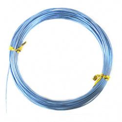 Тел алуминиева 1 мм цвят син -10 метра
