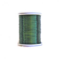 Sârmă cupru 0,4 mm verde închis ~ 26 metri