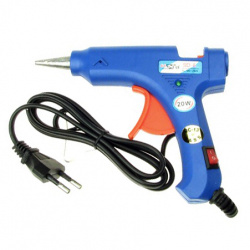 Silicone Hot Melt Glue Gun small 13.5x10.5 cm 20W with knob