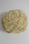 Rattan Ball, Wooden, Decoration, Craft Projects, DIY Light 100 mm white
