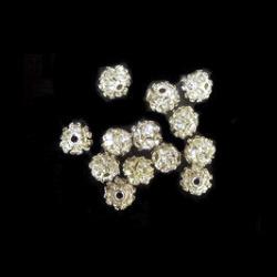 Bilă metalică cu cristale 6 mm