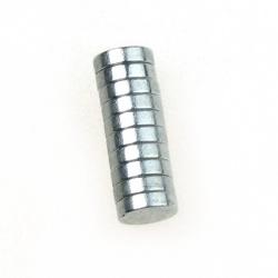 Магнит никел 5x2 мм -10 броя