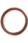 DIY Necklace Memory Wire 115x1 mm copper -50 coils