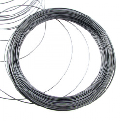 DIY Necklace Memory Wire 115x1 mm color stainless steel -50 bends