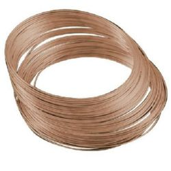 Jewellery Memory Wire Necklace 115x0.6 mm color copper -50 coils