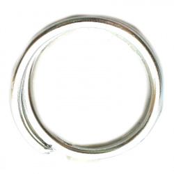 Σύρμα αλουμινίου 2 mm ασημί ~ 5 μέτρα