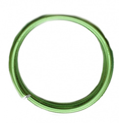 Green Jewellery aluminium wire 1.5 mm