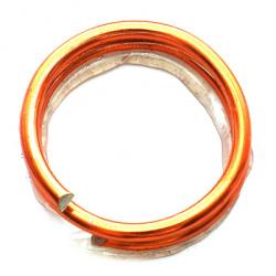 Тел алуминиева 1.5 мм цвят оранжев ±5 метра