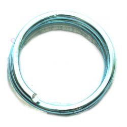 Тел алуминиева 2 мм цвят син небесно -6 метра
