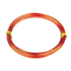 Aluminum wire 1 mm orange -10 meters