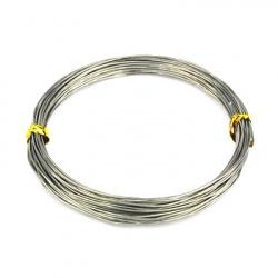 Σύρμα αλουμινίου 1 mm γκρι -10 μέτρα