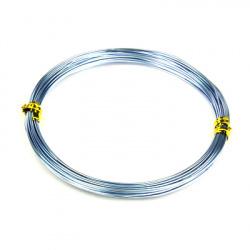 Sârmă de aluminiu 1 mm culoare albastru pal -10 metri