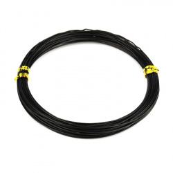 Тел алуминиева 0.8 мм цвят черен ~10 метра