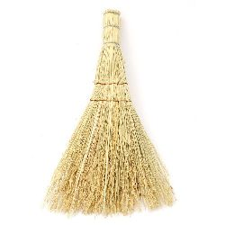 Wooden Broom, Home Decor, DIY, Craft  24 cm