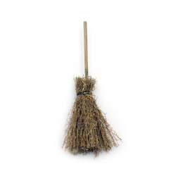 Broom with handle 10 cm