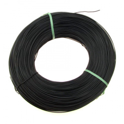 Sârmă din aluminiu bijuterii negre 1 mm
