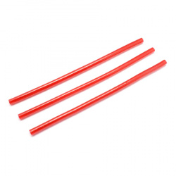 Silicone hot melt glue stick 7.5 x 200 mm red