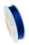Силикон 0.6 мм син тъмен ~13 метра