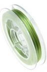 Ελαστικό κορδόνι σιλικόνης 0,8 mm πράσινο ~ 10 μέτρα