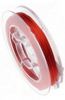 Jewellery silicone cord 0.8 mm