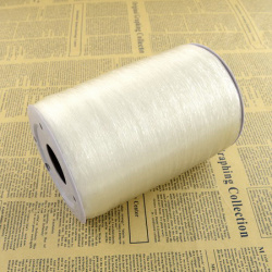 Stretchy Beading Elastic Wire 0.6 mm transparent ~ 1000 meters