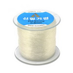 Jewelry Elastic Wire Roll, 1.2 mm transparent ~ 60 meters