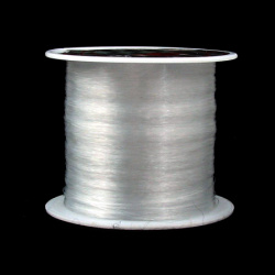 Jewelry Nylon Wire, Beading Thread, Roll Clear 0.40 mm -45 meters