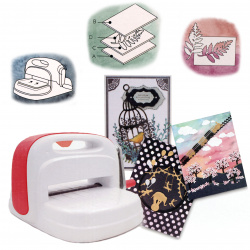 Cutting and embossing machine for scrapbooking, embossing festive cards making A5 PAPUS