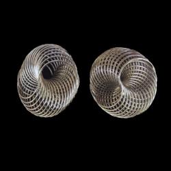 Спирала тел 35 мм сребро -10 броя