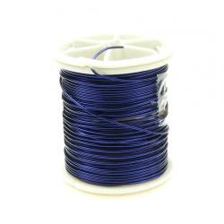 Sârmă cupru 0,8 mm violet închis ~ 7 metri