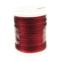 Σύρμα χαλκού 0,6 mm κόκκινο σκούρο ~ 12 μέτρα