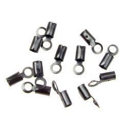 Ακροδέκτες- σφιχτηράκια μεταλλικά 3x7.5 mm ίνοξ -50