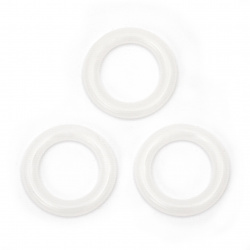 Маркиращи пластмасови халки при плетене 12.7 мм -30 броя