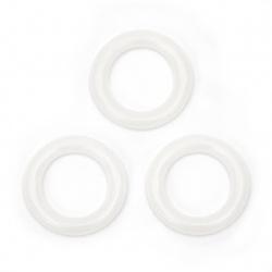 Маркиращи пластмасови халки при плетене 25 мм -15 броя