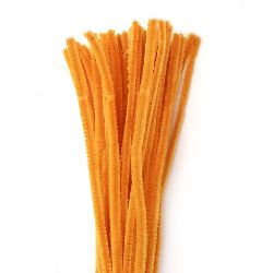 Wire rod orange light  DIY Crafts Decorating, Children-30 cm -10 pieces
