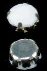 Камък за пришиване с метална основа 8 мм -20 броя