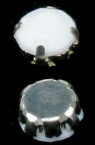 Камък за пришиване с метална основа 10 мм -10 броя