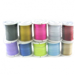 Jewellery cord 0.45 mm Mixed Colors
