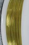 Медна тел 0.4 мм злато ~8 метра